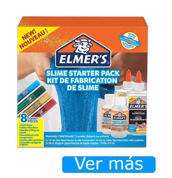 Hacer slime con cola juego Elmer's