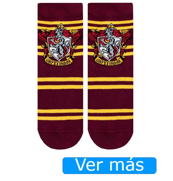 Calcetines Gryffindor para disfraz de Harry Potter para niño