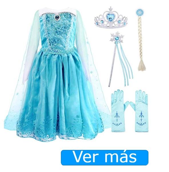 Disfraz de princesa Elsa