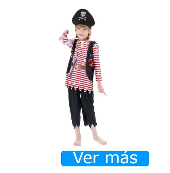 Disfraz de pirata para niño o niña grumete