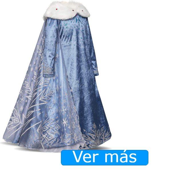 Disfraz de princesa con capa