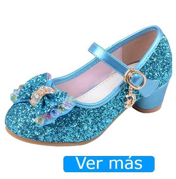 Disfraz de princesa: zapatos