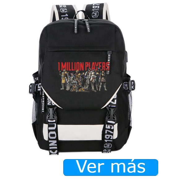 Mochila Apex Legends con puerto USB