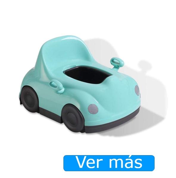 Orinal para niños en forma de coche