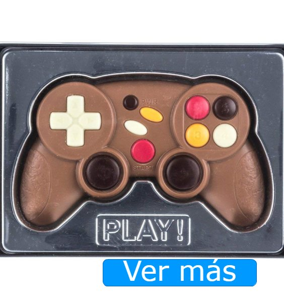 San Valentín niños: chocolatina en forma de videojuego