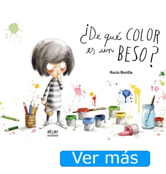 San Valentín para niños: ¿De qué color es un beso?