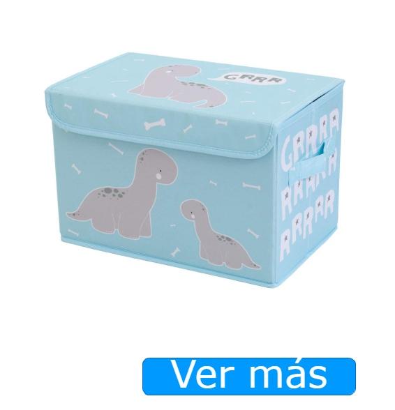 Baúl para juguetes de tela Little Lovely Company
