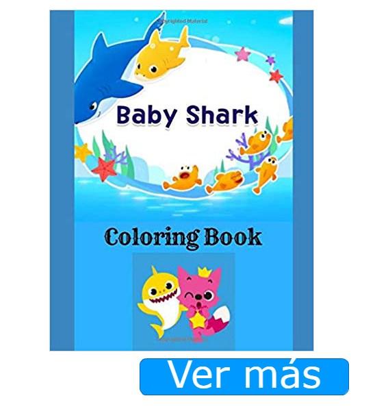 Baby Shark para colorear