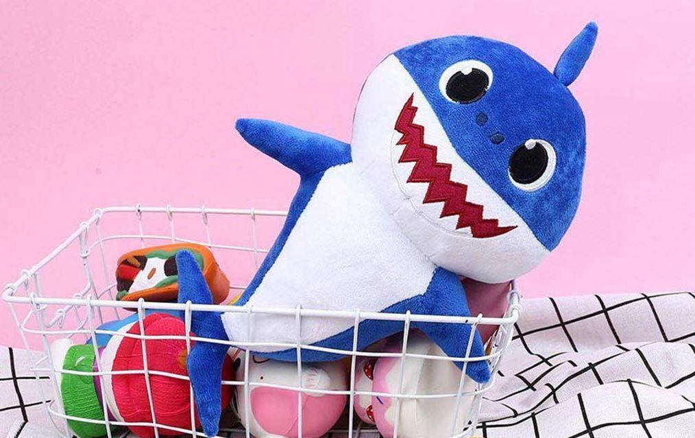 Baby Shark peluche