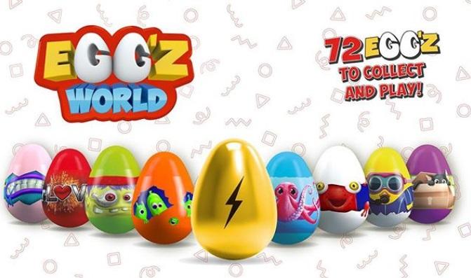 Eggz World de Panini