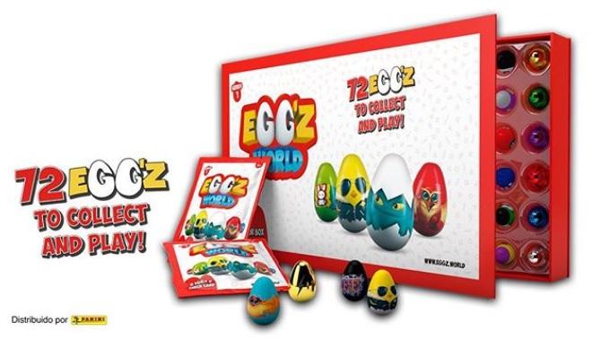 Eggz collector box