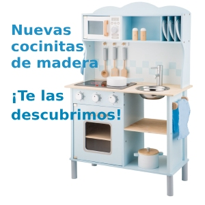 Cocinitas de madera post