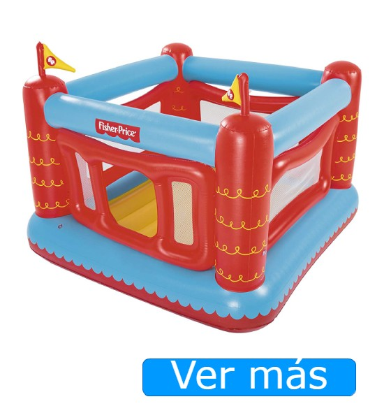 Comprar un castillo hinchable-Castillo inflable Fisher Price