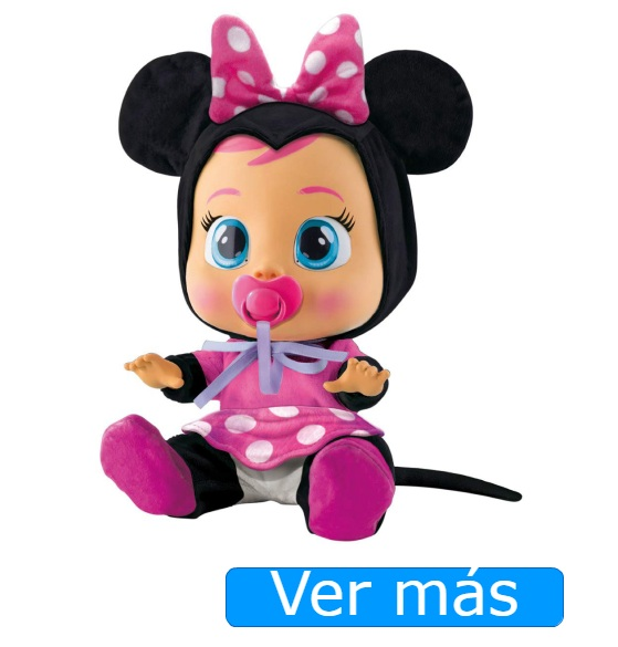Alternativas al bebe lloron unicornio: Bebe lloron Minnie