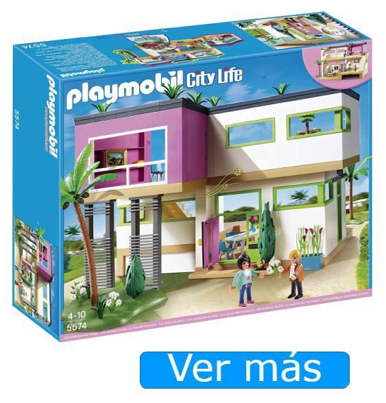 Casa Playmobil: mansión moderna Playmobil
