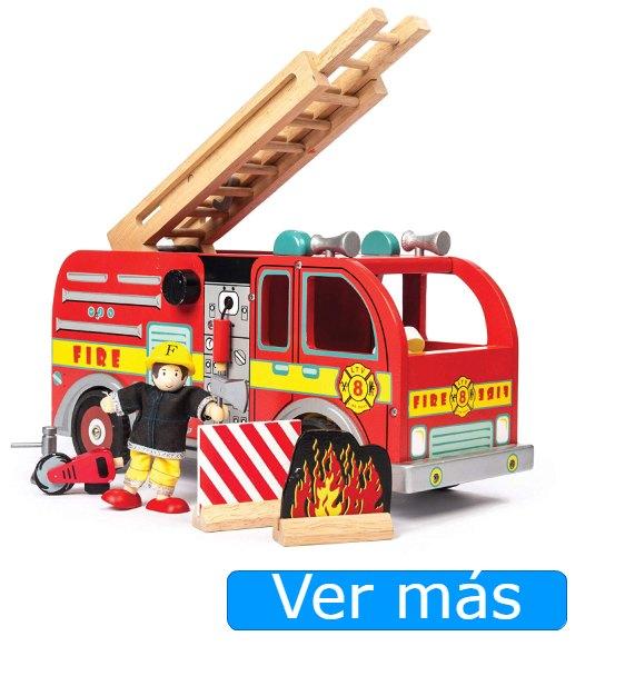 Camión bomberos madera Le Toy Van