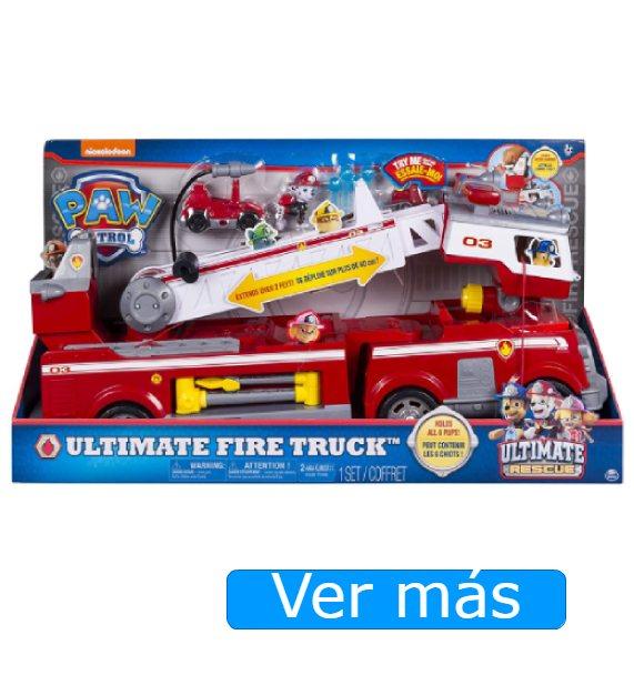 Camión de bomberos La Patrulla Canina