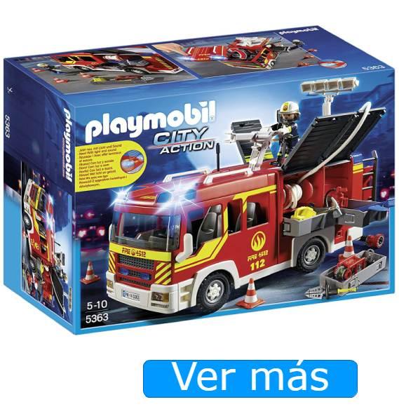 Camión de bomberos Playmobil 5363
