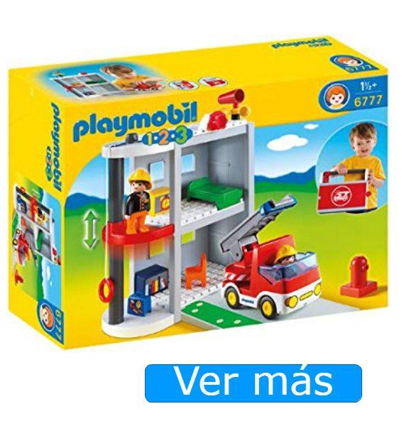 Parque y camión de bomberos Playmobil 123