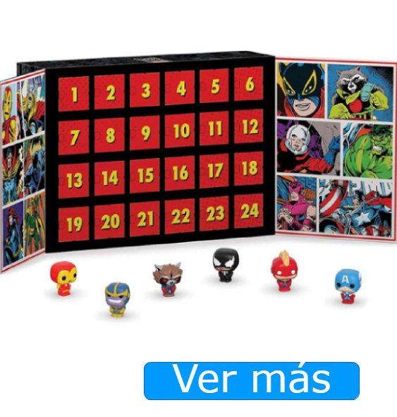 Calendario de adviento para niños Marvel