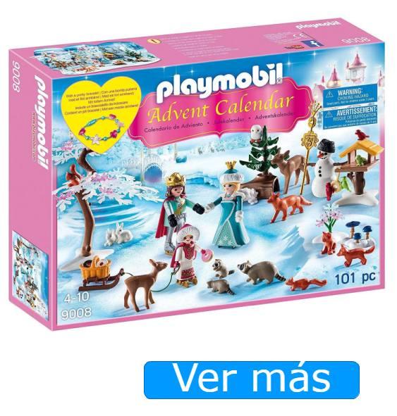 Calendario de adviento para niños Playmobil patinaje sobre hielo