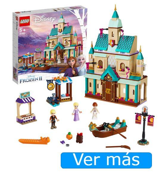 Juguetes de Frozen 2 LEGO. Castillo y aldea de Arendelle
