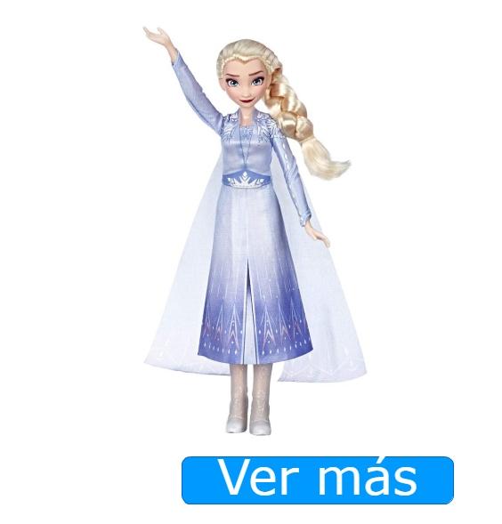 Juguetes de Frozen 2. Muñeca de Elsa que canta