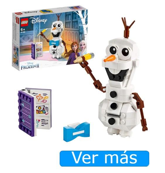 Juguetes de Frozen 2. Olaf de LEGO
