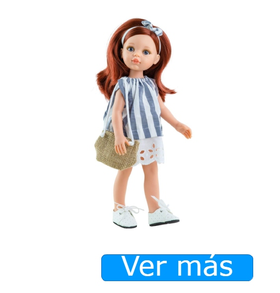 Muñecas pelirrojas Paola Reina. Cristi
