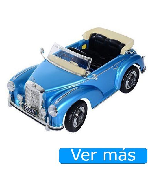 Coches eléctricos para niños Mercedes clásico