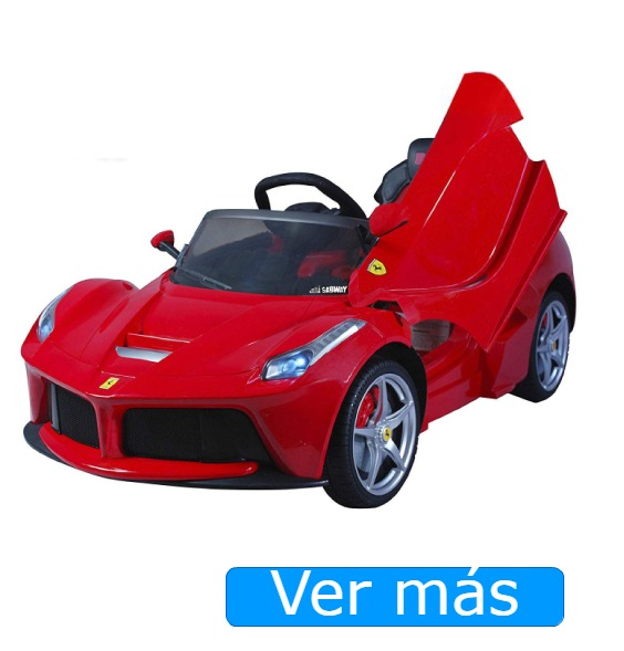 Coches para niños Ferrari